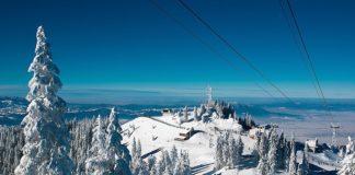 Snowboarding in Transylvania