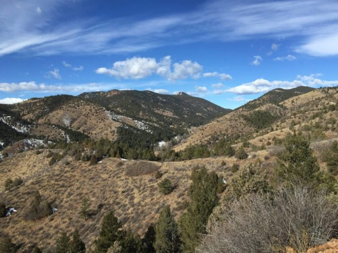 Rim Rock Trail In North Table Mountain S Golden Co