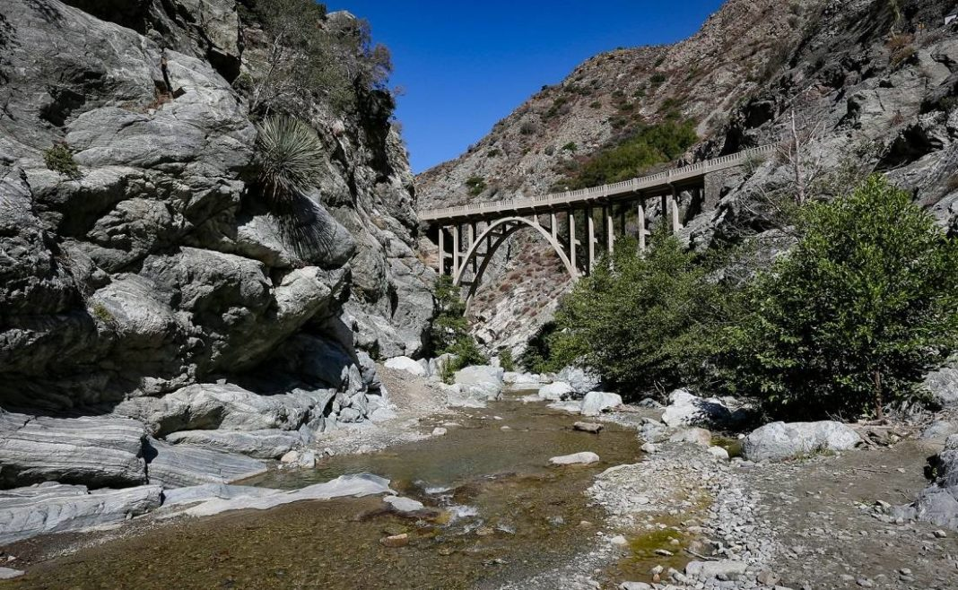A Bridge To Nowhere Hiking San Gabriel River East Fork