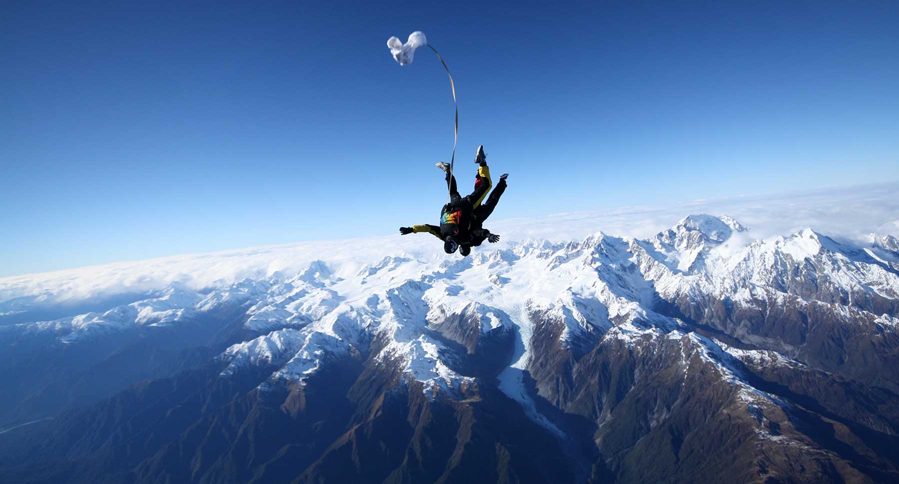 Tandem Skydiving: the Best First Parachute Jump